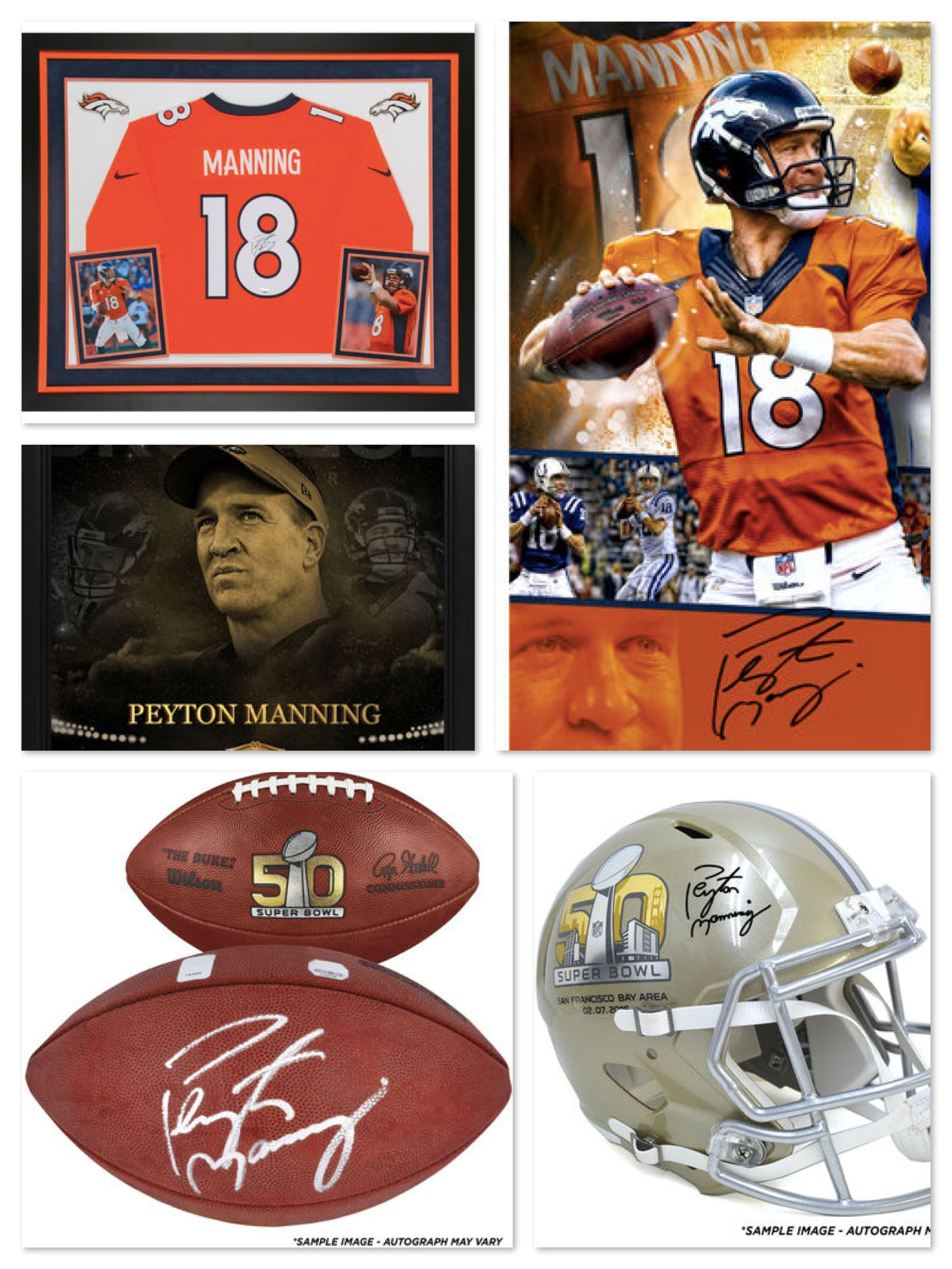 Peyton Manning Collectibles