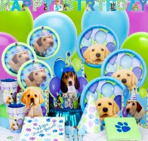 Puppy Birthday Party Supplies