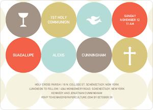 Symbols of Communion Invitations