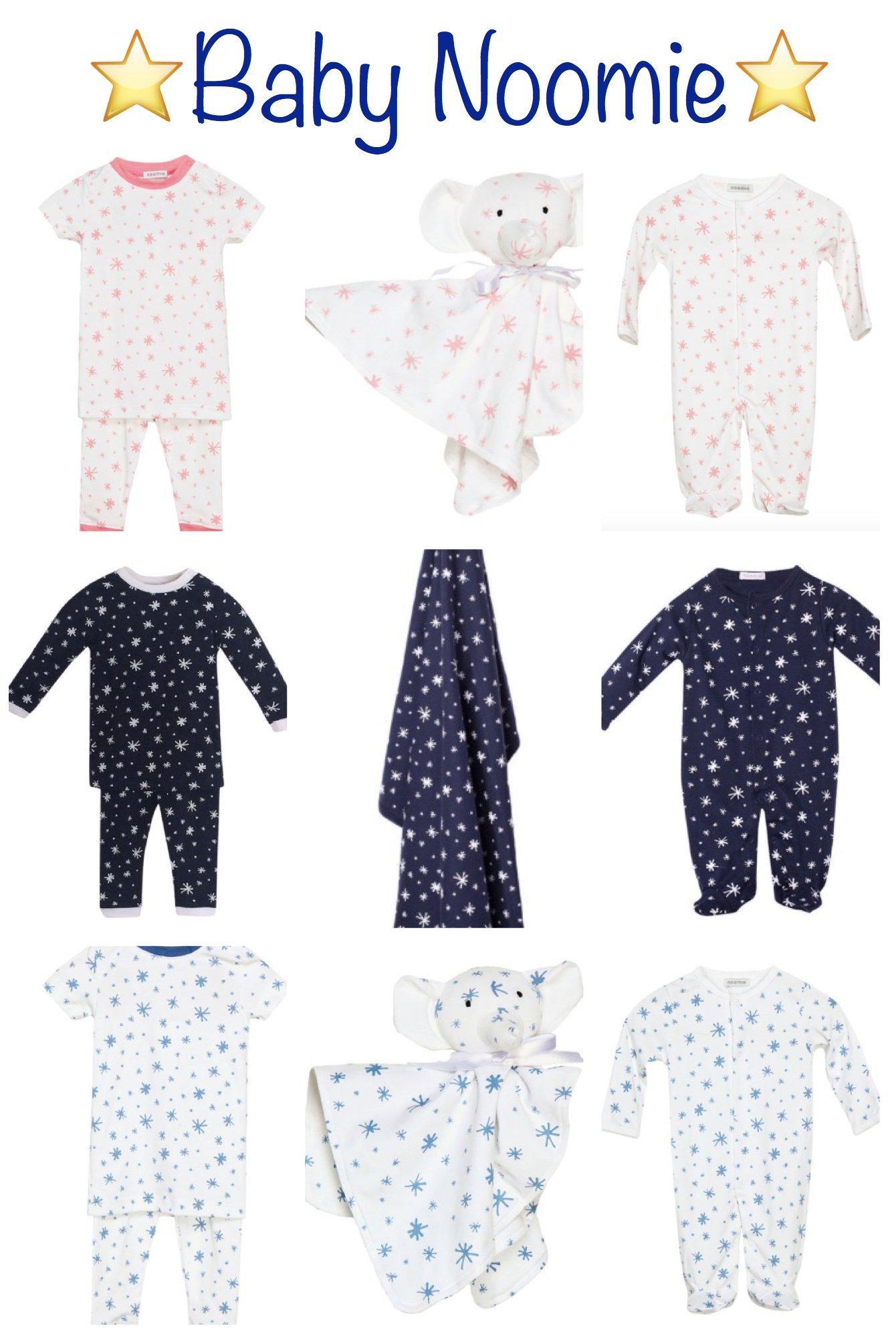 Baby Noomie Star Pajamas