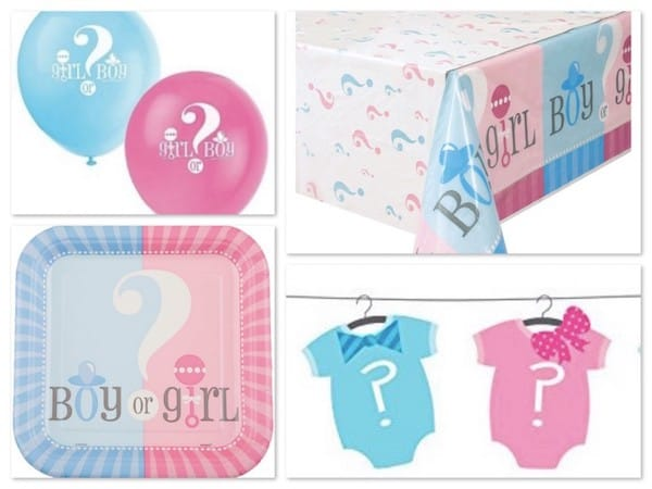 Boy Or Girl Gender Reveal Baby Shower Party