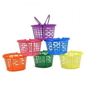 Colored Egg Baskets