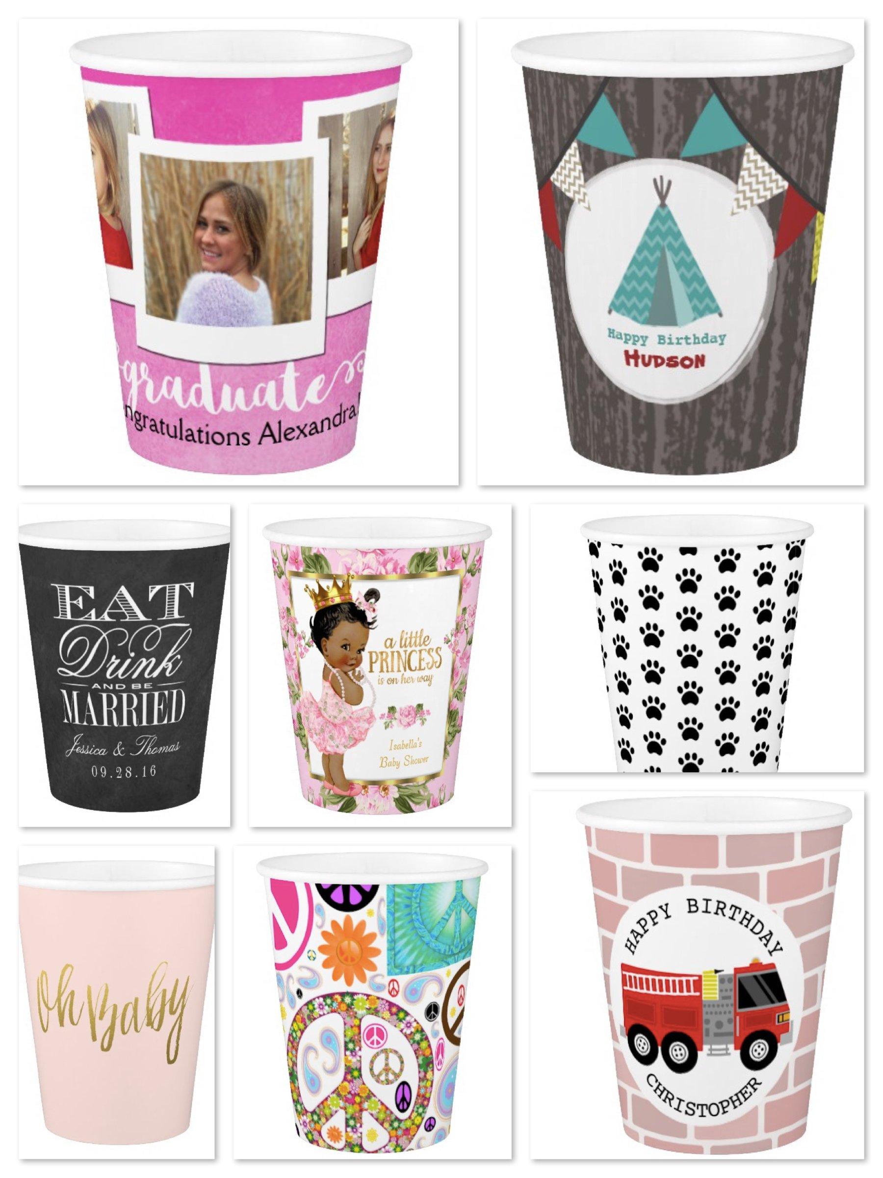 Custom Paper Cups