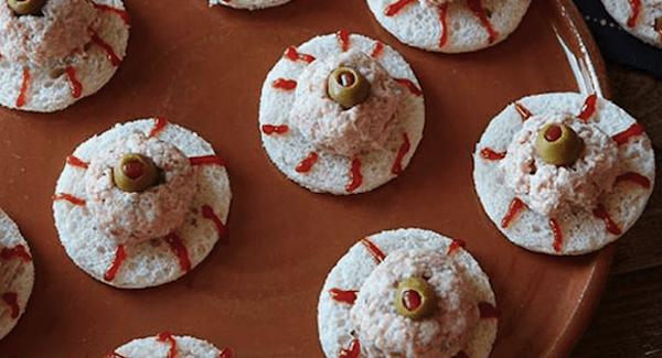 How to MakeDeviled-Ham Eyeball Sandwich