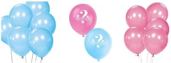 Girl or boy balloons