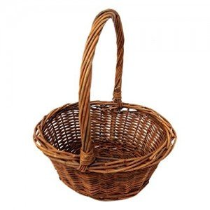 Handwoven Willow Basket