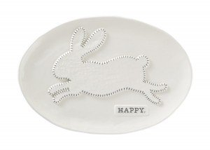 Happy Bunny Platter