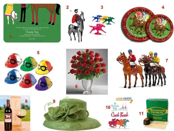 Horse Racing Party Inspiration Board