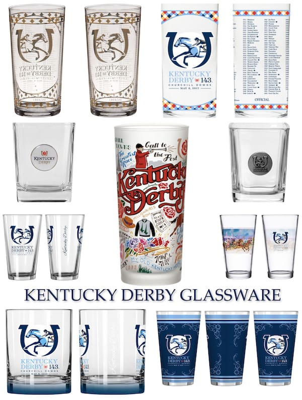 Kentucky Derby Drinkware & Glassware
