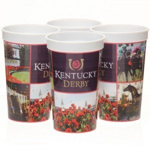Kentucky Derby Icon Plastic Souvenir Cups