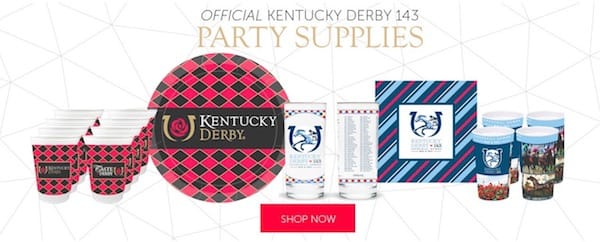 Official Kentucky Derby 143 Party Supplies