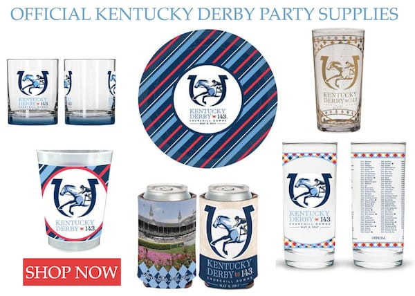 Official Kentucky Derby Party Supplies