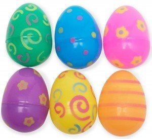Patterned Opaque Easter Eggs