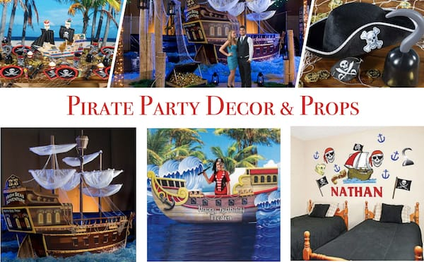 Pirate Party Decor & Props