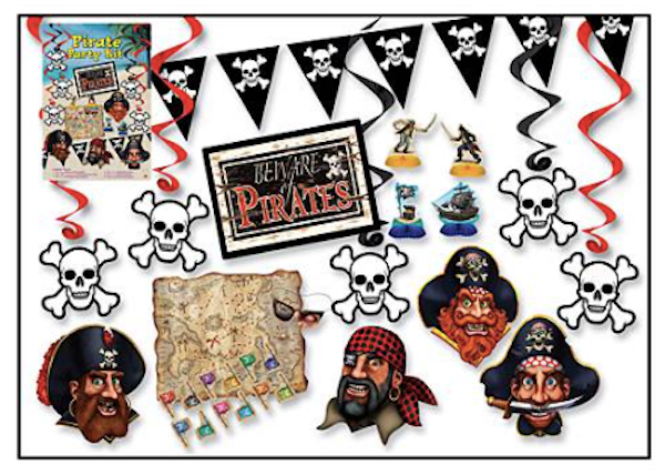 Pirate Party Kit