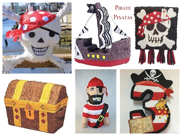 Pirate Pinatas