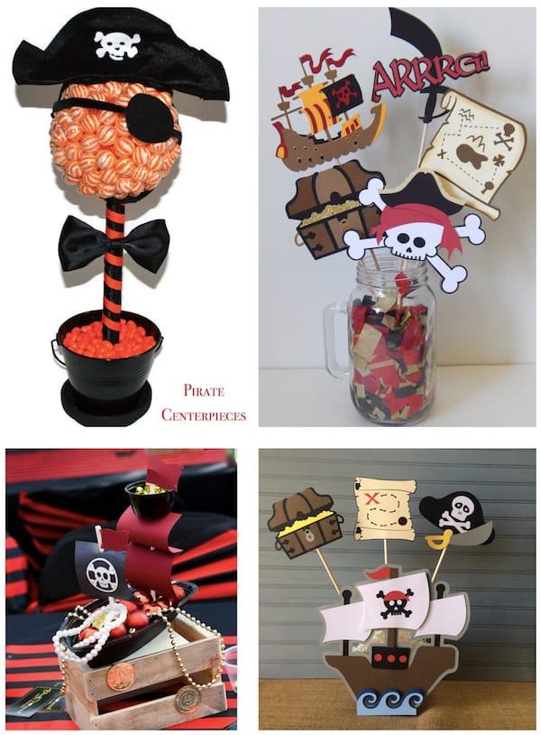 Pirate Centerpieces