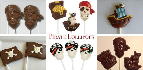 Pirate Lollipops
