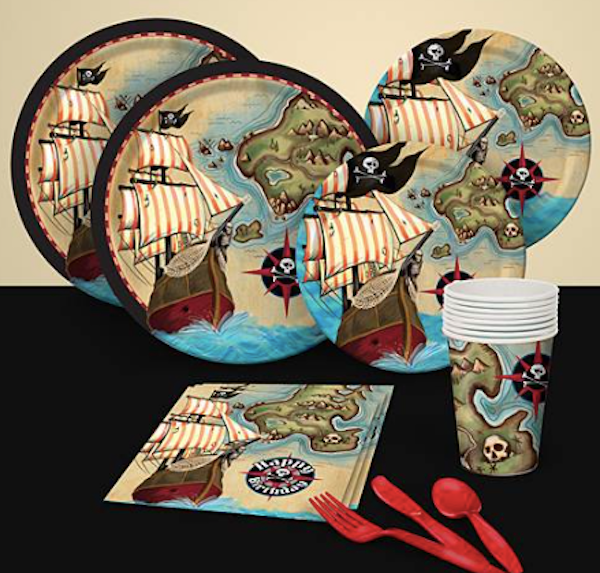Pirates Map Party Pack