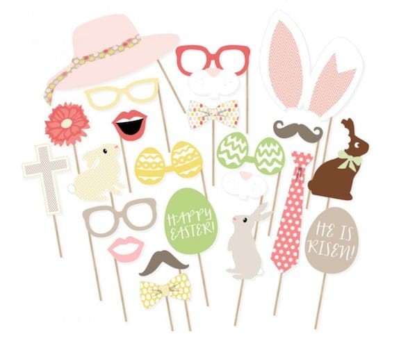 Printable Easter Photo Props
