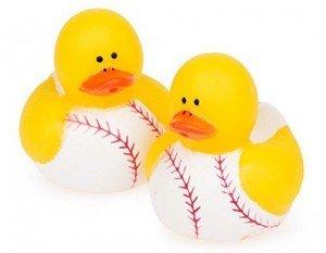Baseball Rubber Ducks