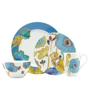 Blue Floral China