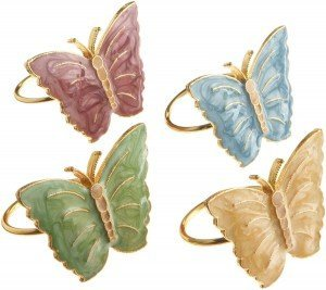 Butterfly Napkin Ring
