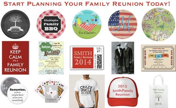 Family Reunion Planning Ideas Supplies