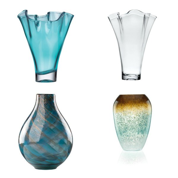 Lenox Glass Vases