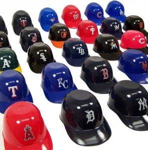 MLB Mini Ice Cream Sundae Snack Bowls