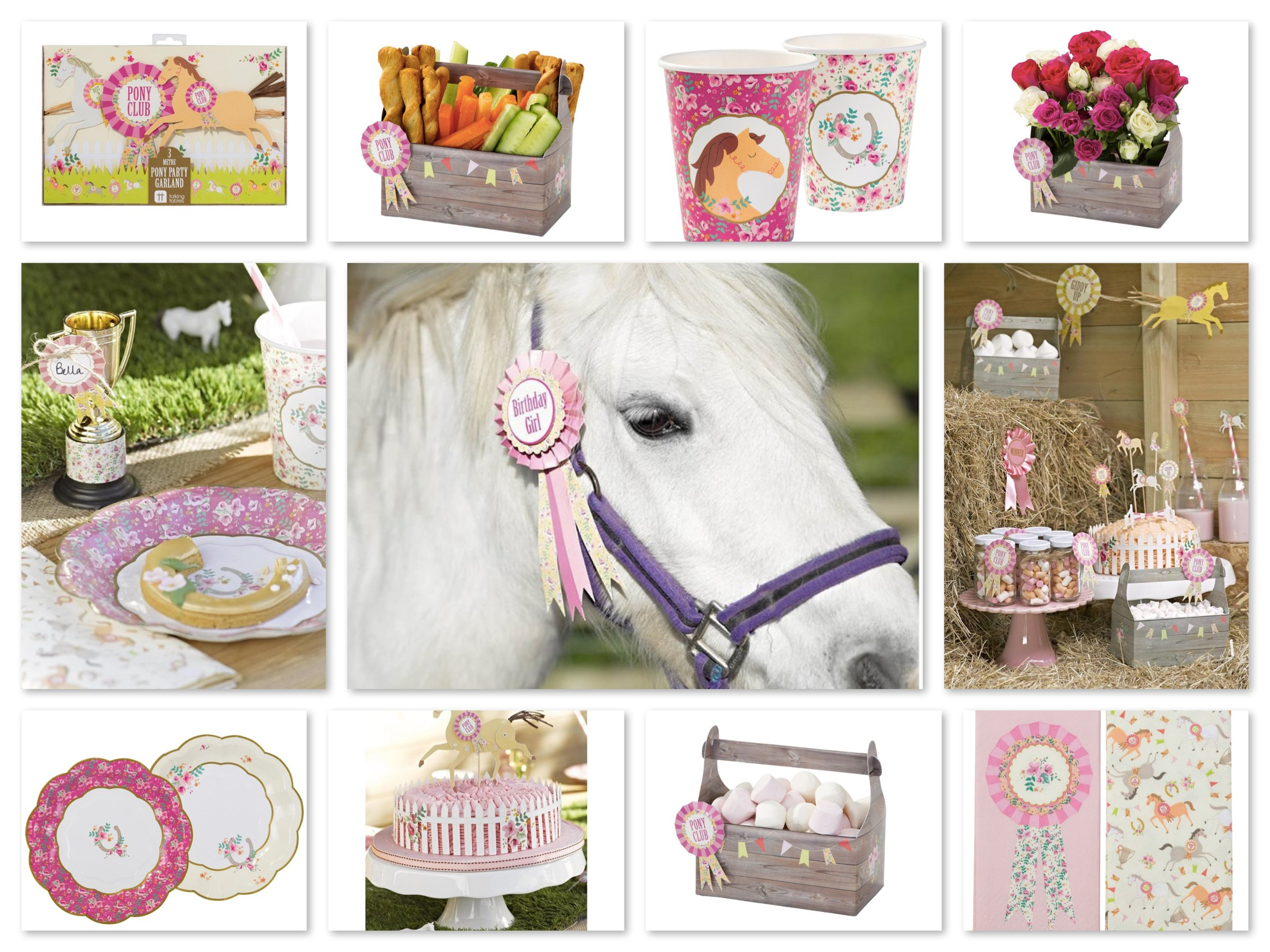 Talking Tables Pony Party Supplies