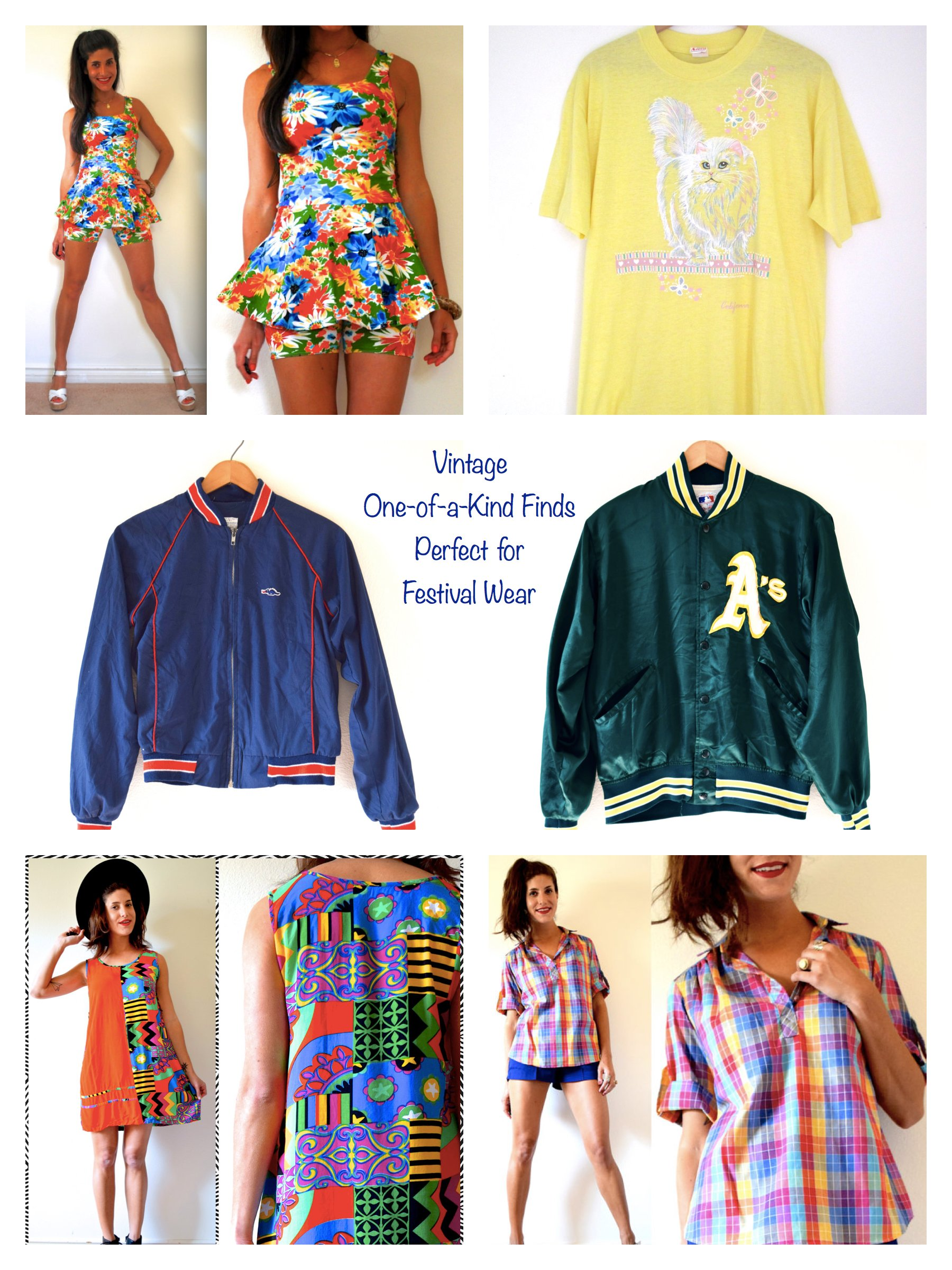 Coachella 2016 fashion Vintage One-of-a-Kind Finds Perfect for Festival Wear
