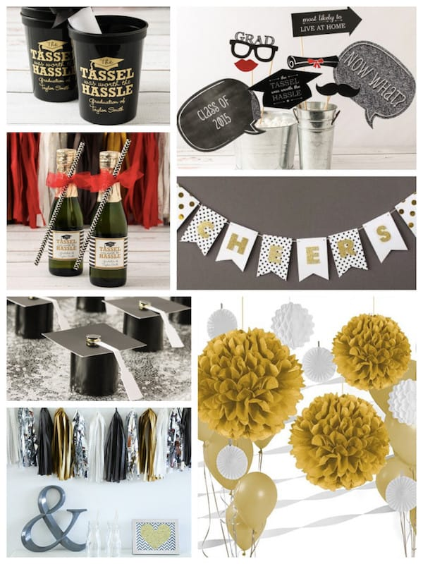 Graduation Themed Party Decor