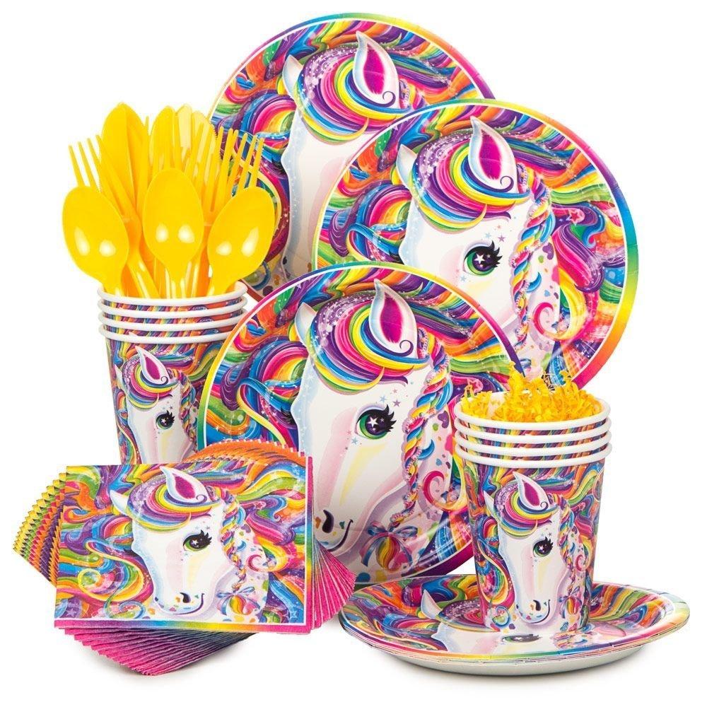 Lisa Frank Neon Unicorn Pony Party Kit, Unicorn Party