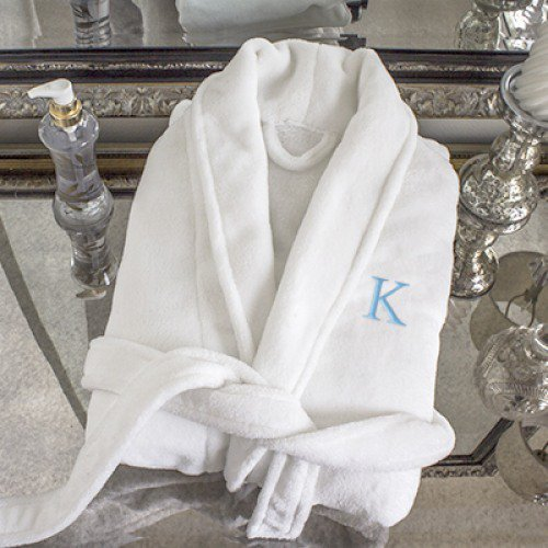 Personalized Plush Spa Robe, Personalized Groomsmen Gifts