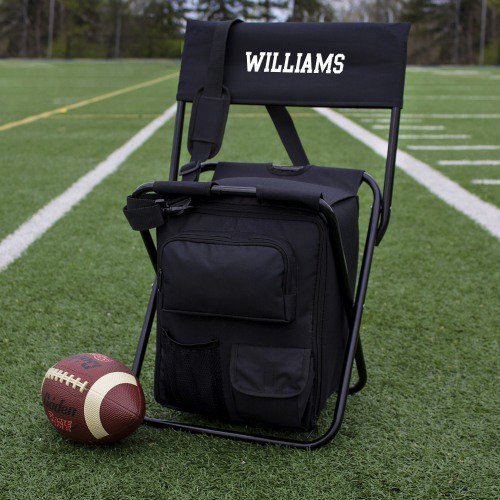 Personalized Tailgate Backpack Cooler Chair, Personalized Groomsmen Gifts