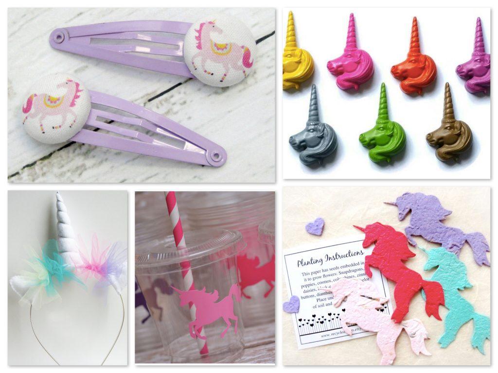 Unicorn Theme Party Favors, Unicorn Party