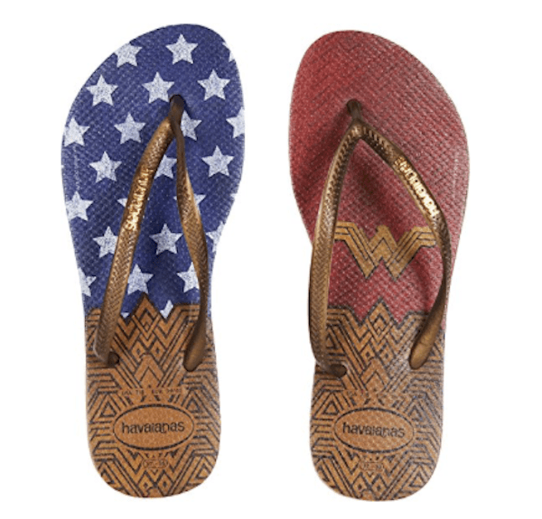 Wonder Woman Havaianas Flip Flops