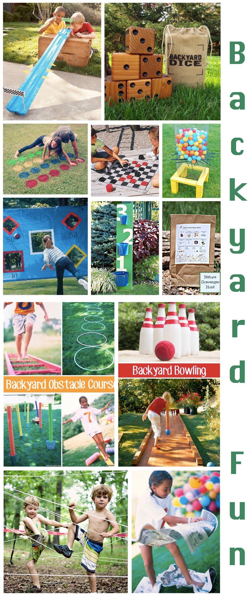 Backyard Fun, Fathers Day Fun