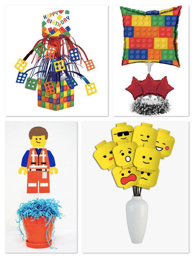 Budget Friendly Lego Theme Centerpieces