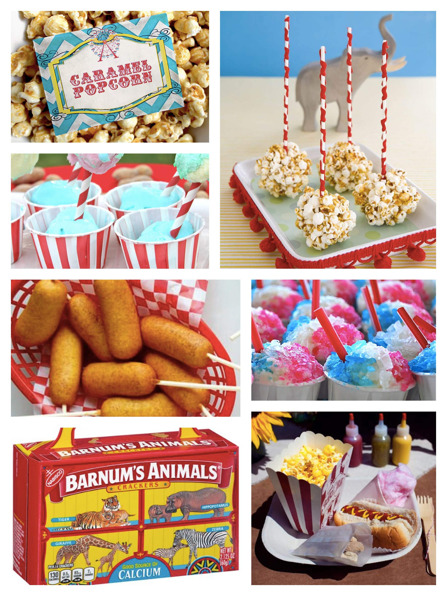Carnival Party Food Ideas