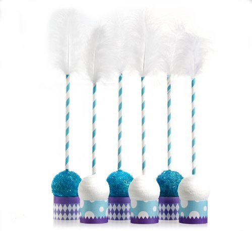 Classic Carnival Birthday Purple Cake Pop Kit
