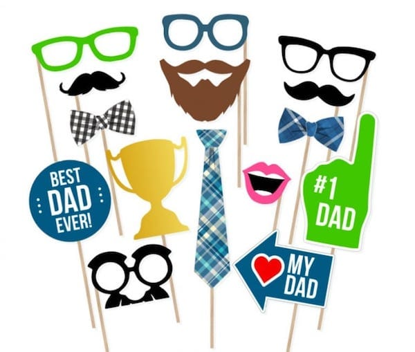 Fathers Day Photo Booth Props