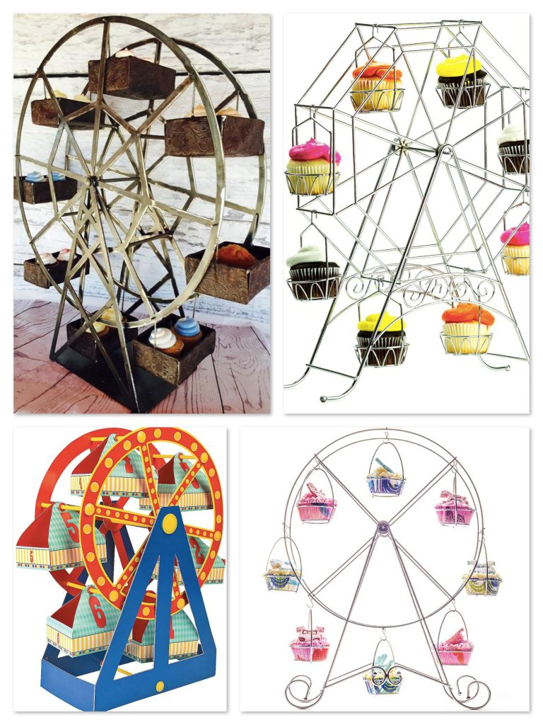 Ferris Wheel Cupcake Holder Centerpieces