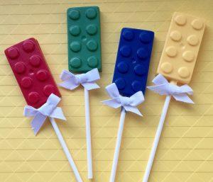 LEGO Chocolate Pops