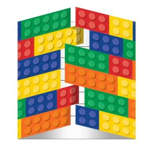 Lego Block Party Invitations