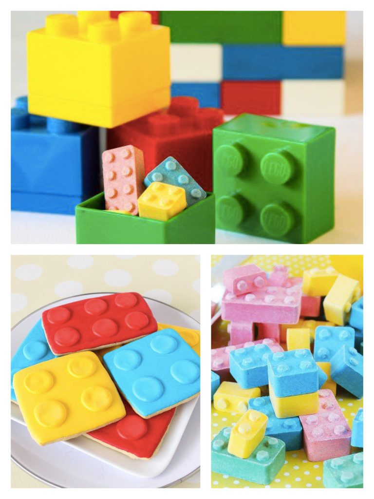 Lego Party Favor Boxes, Cookies & Candy