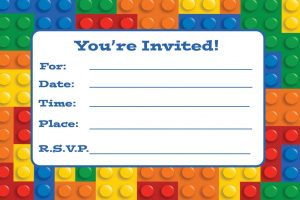 photo regarding Lego Birthday Invitations Printable identified as LEGO Social gathering Building, Strategies Products Childrens Birthday