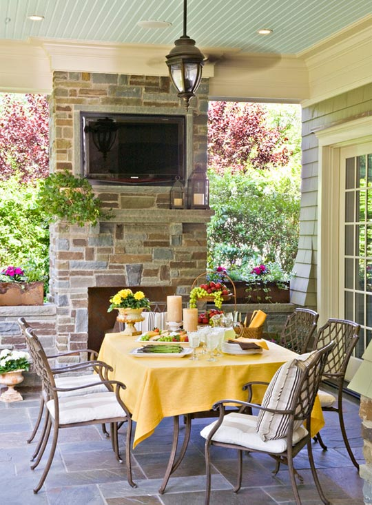 Easy Home Updates for Outdoor Entertaining, Outdoor Dining