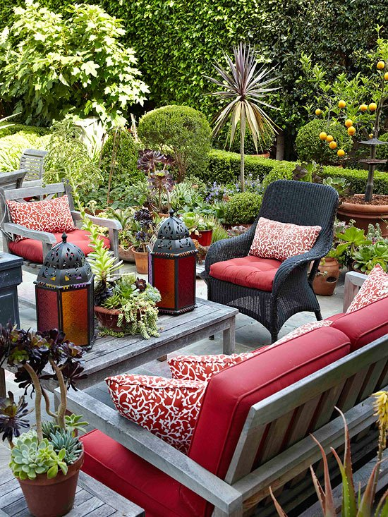 Easy Home Updates for Outdoor Entertaining, Garden Patio